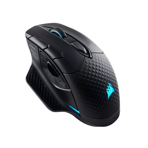 Chuột Corsair Dark Core Wireless Mouse RGB SE (dùng không dây/ sạc không dây Qi)