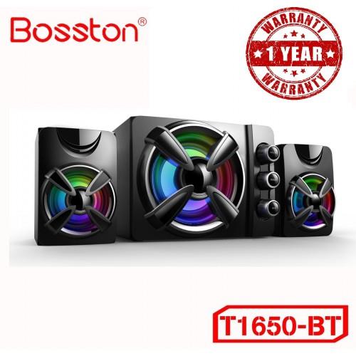 Loa 2.1 Bosston T1650-Bluetooth-Led RGB