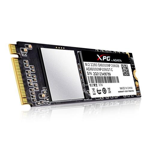 SSD Adata XPG SX6000 PCIe M.2 2280 256GB 1000/800 MB/s (ASX6000NP-256GT-C )